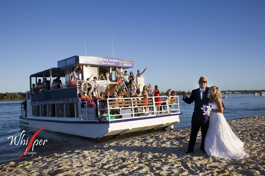 Noosa Queen wedding